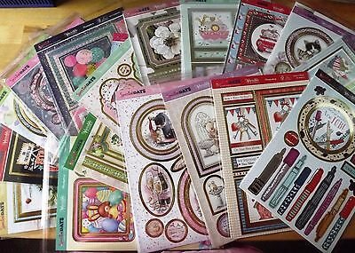 Mixed Hunkydory Special Days / Occasions Die-cut Decoupage & Backing Card Sets