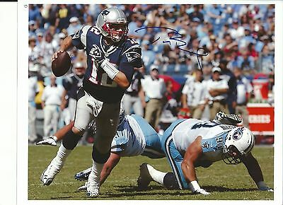 Tom Brady Signed 8X10 Photo Rp