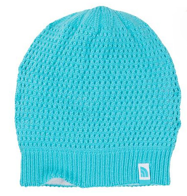 e707a9efa843b5 NWT The North Face Youth Beanie 'Shinsky' Reversible Fortuna Blue Hat Cap Sz  S