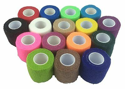 Sock Tape - Cohesive Bandage - 5cm x 4.5m - Box of 12 Rolls