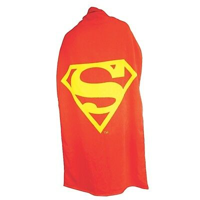 Cape Towel - Superman - Large Towel with Superman logo that converts to a cape