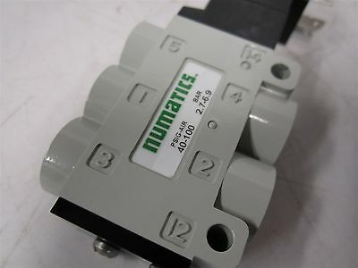 "NUMATICS 92280-1 Solenoid Air Control Valve 1/4"" 24VDC 4-Way, 2-Position"