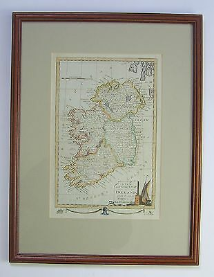 Ireland: antique map by anonymous engraver, c1783