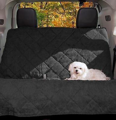 Back Seat Protector and Pet Seat Cover with Adjustable Straps