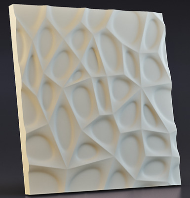 cobwe Plastic Molds for 3 D Panels  Plaster wall stone Form 3D decor wall panels
