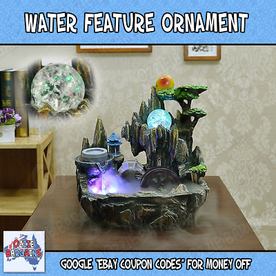 New Health Benefits - Indoor Fountain Water Feature / Spa Ornament - Home Decor