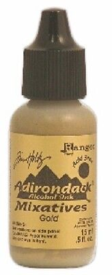 Ranger ADIRONDACK ALCOHOL INK METALLIC MIXATIVE Gold  0.5oz TIM22053