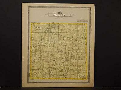 Indiana, Harrison County Map, Morgan & Spencer, 1906  K4#76
