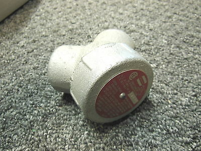 """Cooper Crouse-Hinds LBY35 Fitting 1"""" Iron Elbow"""