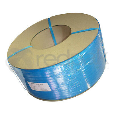 Poly (PP) Machine Strapping 12mm (width) x 3000m (length) Blue   No 69003