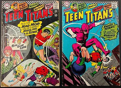 Teen Titans Lot 1966 Of 13 Lower Grade+Showcase #59 1965 Solid  3Rd Appearance