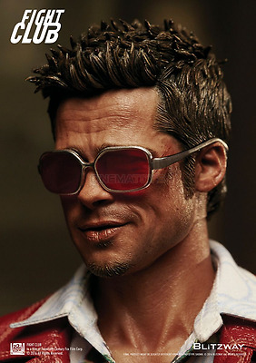 Fight Club Red Jacket Ver. Brad Pitt 1/6 Action Figure by Blitzway FIGHTCLUB