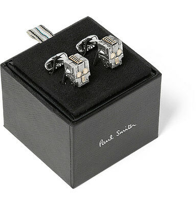Paul Smith Cufflinks - Robot Skull Silver And Gold-Tone /BNWT/RRP:£85