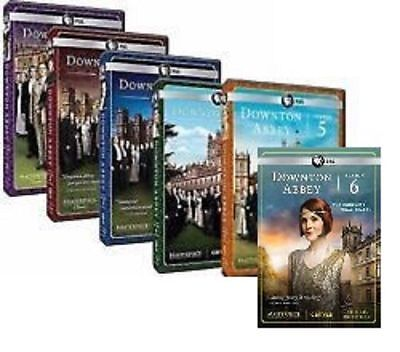 Downton Abbey: The Complete Complete Series Season 1-6 DVD NEW
