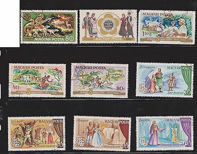 (U19-29) 1960-70 Hungary mix of 28stamps value to 1.5ft (H)