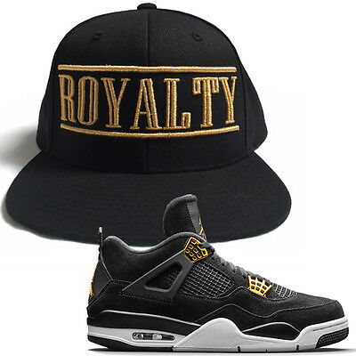 ddd8c1f6f8cf2 ROYALTY CROWN GOLD T Shirt to match with Air Jordan Retro 4 Gold ...
