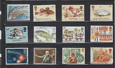 (U19-13) 1970-90 GB mix of 40stamps value to 72P (M)