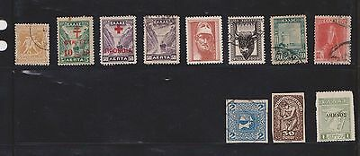 (U19-19) 1910-60 Greece mix of 24stamps value to 50d (D)
