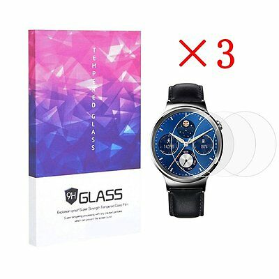 9H Hardness Tempered Glass Screen Protectors for HuaWei watch (3 pcs)