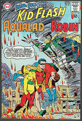 BRAVE AND THE BOLD  54  VG/FN/5.0 - 1st appearance of the Teen Titans!