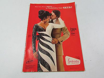 Vtg 1977 FREDERICK'S OF HOLLYWOOD Catalogue No. 760 Lingerie Bras Swimsuits Sexy