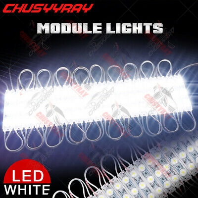 Ultra Bright White IP67 Marine Boat 10 Pack Waterproof modules 12V 30 LED Lights