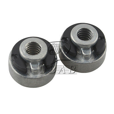 """2X Fender Seat Nut Kit for Harley Seat Mounting 1/4"""" 20 TPI  59768-97 Replace SF"""