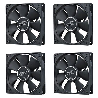 Cooler Master 4x 120mm Silent Case Fan 3-pin 12cm SI2 Value Pack CoolerMaster