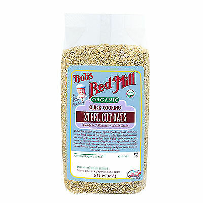 Bob's Red Mill Organic Quick Cooking Steel Cut Oats 623g