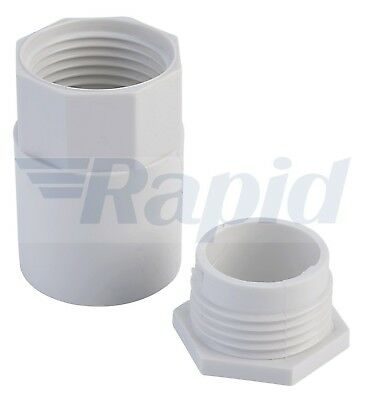 Schneider Electric ISM80056 Tower Female Adapter 20mm White (Box of 100)
