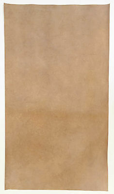 Veg Tan Nubuck Leather Piece Of Cowhide 1 @ 60Cm X 40Cm Oyster 1.8-2.0 Mm Thick