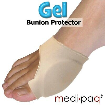 MEDIPAQ™ Gel Big Toe Bunion Protector Support - Bunions Blisters Gout Foot Pain