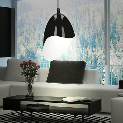 pendellampe schwarz rot gold chrom glas pendelleuchte h ngelampe deckenlampe neu eur 31 41. Black Bedroom Furniture Sets. Home Design Ideas