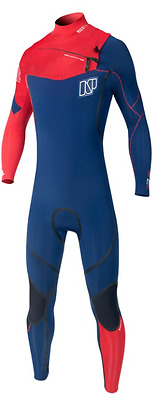 143067-000 NP Wetsuit Mission Fullsuit 5/4/3 DL Front Zip 2016 -Ship Europe Free