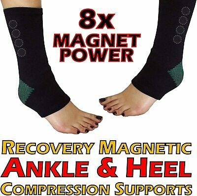 MEDIPAQ™ Recovery Magnetic Ankle & Heel Compression Support Sock - Foot Pain Aid