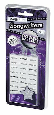 Magnetic Songwriters Kit - Power Ballads