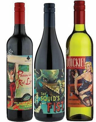 Some Young Punks Passion Has Red Lips / Squids Fist / Quickie Case of 3