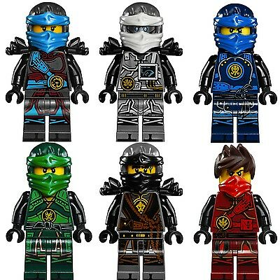 Ninjago The Hands of Time Custom Minifigures,  FUSION NINJA SUITS - Fits Lego