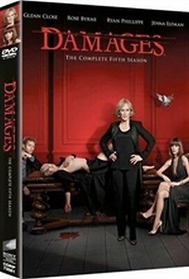 Damages - Stagione 5 (3 DVD) - ITALIANO ORIGINALE SIGILLATO -