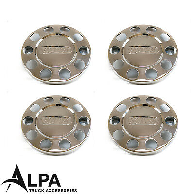 Volvo FH/FM Truck Wheel Trims Stainless Steel - 22.5 Inch - (SET OF FOUR)