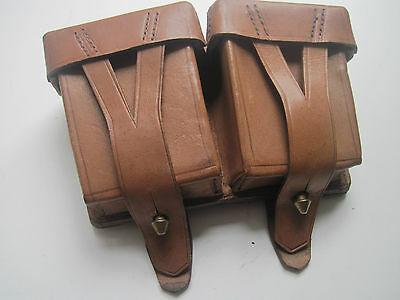 AMMO POUCHES for MOSIN-NAGANT RIFLE. RED ARMY (RKKA)