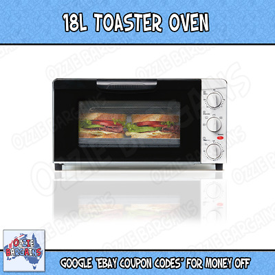 14L Kitchen Toaster Oven Cooker - Bake - Grill - Roast /  1300 watt