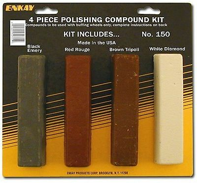 New ENKAY  4-Piece Polishing Compound Kit -150- Free Shipping