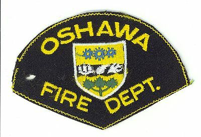 Oshawa Fire Department, Ontario, Canada HTF Vintage Shoulder Patch
