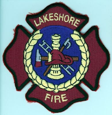 LFD Town of Lakeshore Fire Department Uniform Patch Ontario ON