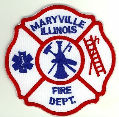 MFD Maryville Fire Department Uniform Patch Illinois IL