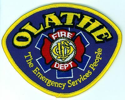 OFD Olathe Fire Department Uniform Patch Kansas KS