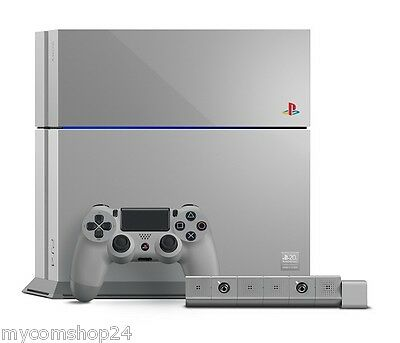 """Sony Playstation 4 """"20TH ANNIVERSARY"""" Konsole LIMITED Europa Edition NEU OVP PS4"""