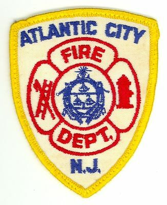 Vintage ACFD Atlantic City Fire Department Uniform Patch New Jersey NJ