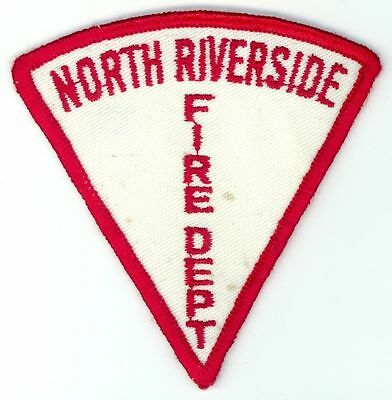 Vintage NRFD North Riverside Fire Department Uniform Patch Illinois IL